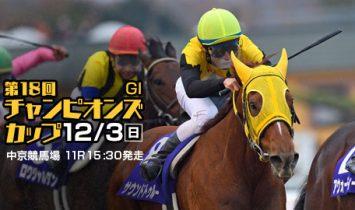 第18回 チャンピオンズカップ G1 2017 マヨトラ競馬アイドル予想