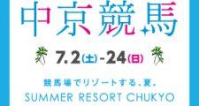 中京競馬場2016年7月のイベント情報