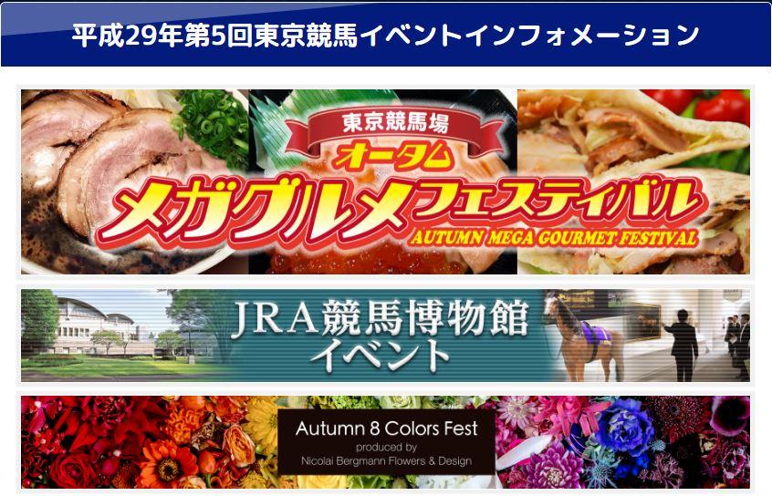 2017年11月東京競馬場イベント情報詳細02