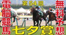 第54回-七夕賞(GⅢ)-電脳競馬新聞
