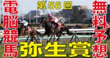 03月03日-第56回-報知杯弥生賞(GⅡ)電脳競馬新聞無料予想
