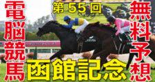 07月14日-第55回-函館記念(GⅢ)電脳競馬新聞