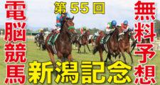 第55回-新潟記念(GⅢ)-電脳競馬新聞無料予想