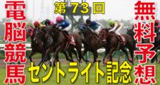 第73回-朝日杯セントライト記念(GⅡ)-電脳競馬新聞無料予想
