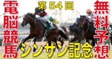 第54回-シンザン記念(GⅢ)バナー