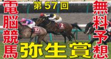 03月08日-第57回-弥生賞-ディープインパクト記念(GⅡ)電脳競馬新聞無料予想バナー