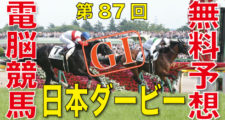 第87回-日本ダービー東京優駿(GⅠ)バナー