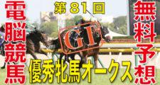 05月24日 第81回 優駿牝馬オークス(GⅠ)電脳競馬新聞無料予想