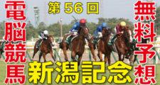 09月06日 第56回 新潟記念(GⅢ)電脳競馬新聞無料予想
