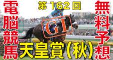 11月01日-第162回-天皇賞(秋)(GⅠ)電脳競馬新聞無料予想バナー