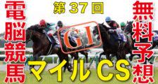 11月22日 第37回 マイルチャンピオンシップ(GⅠ)
