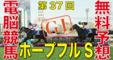 12月26日 第37回 ホープフルステークス(GⅠ)予想情報