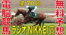 07月04日 第70回 ラジオNIKKEI賞(GⅢ)電脳競馬新聞無料予想