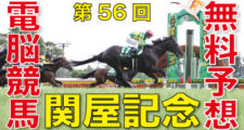 08月15日 第56回 関屋記念(GⅢ)電脳競馬新聞無料予想